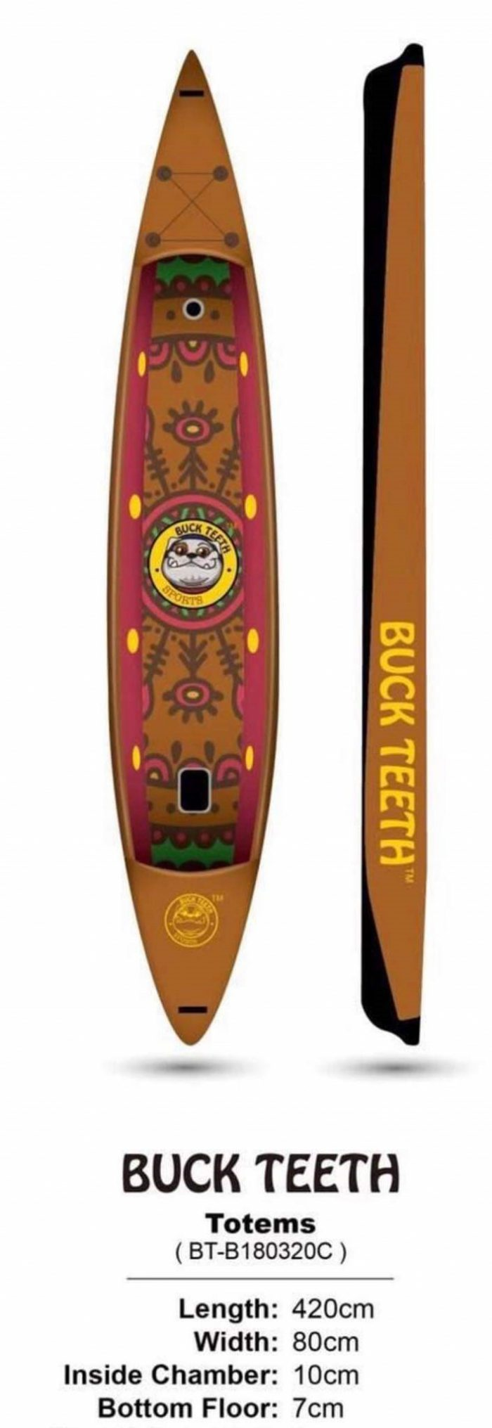 totems stand up paddle board sport