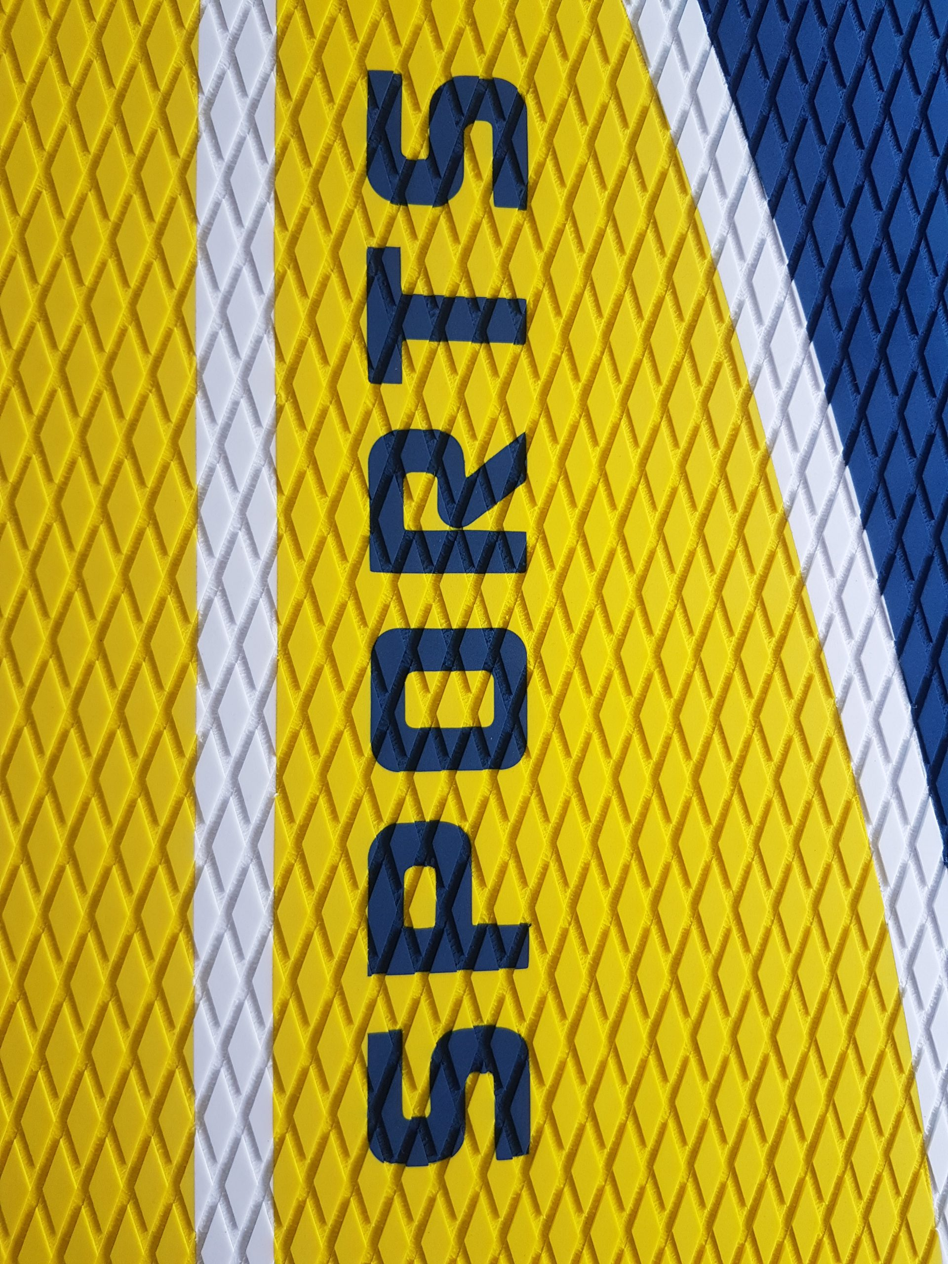 Sport yellow board EVA