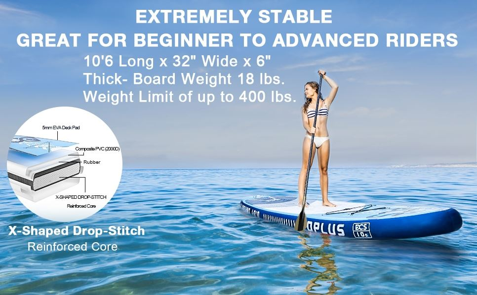 Laminated Stand Up Paddleboard Construction
